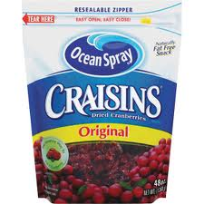 My latest food obsession: Craisins!