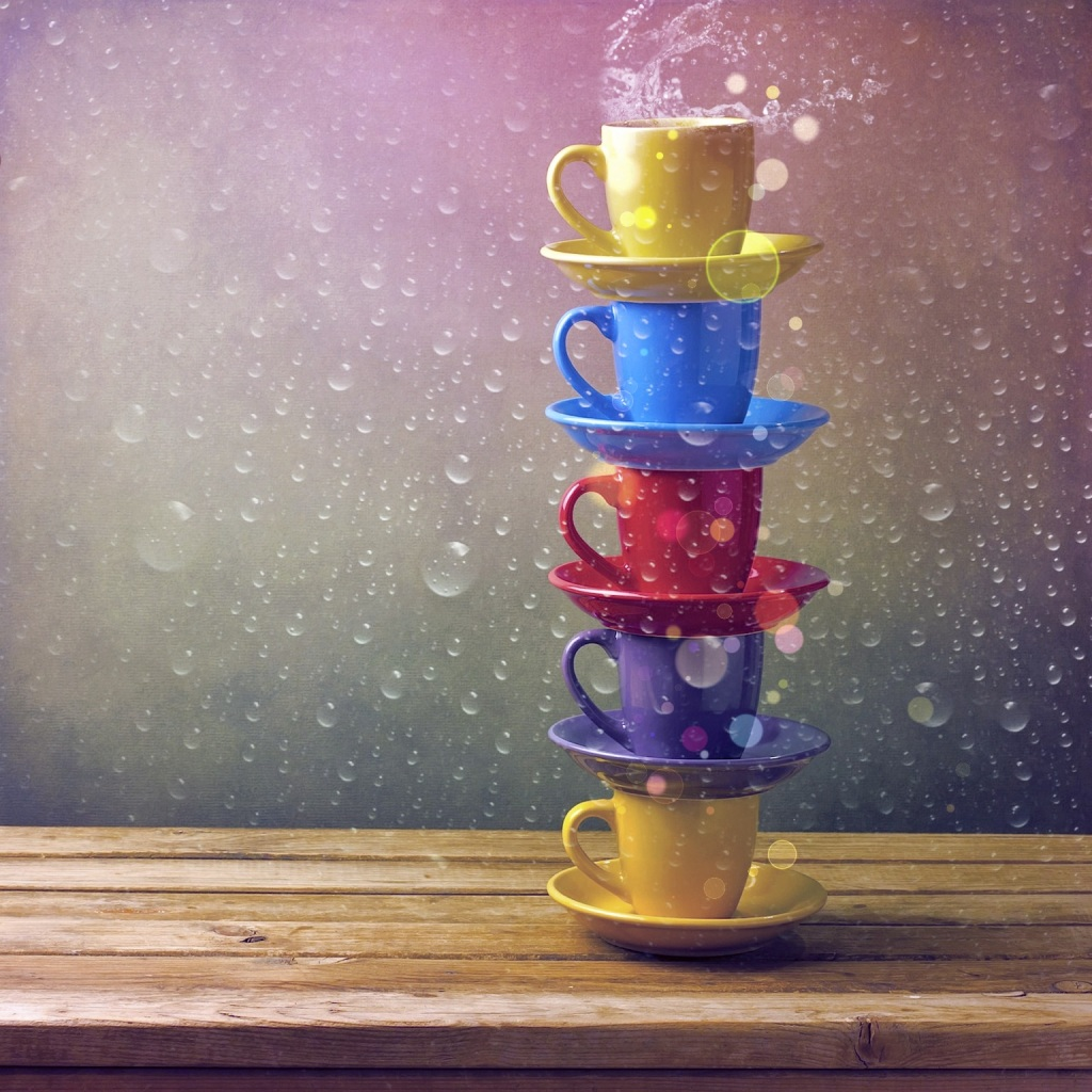 Raining Tea Cups