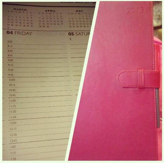 My OCD planner