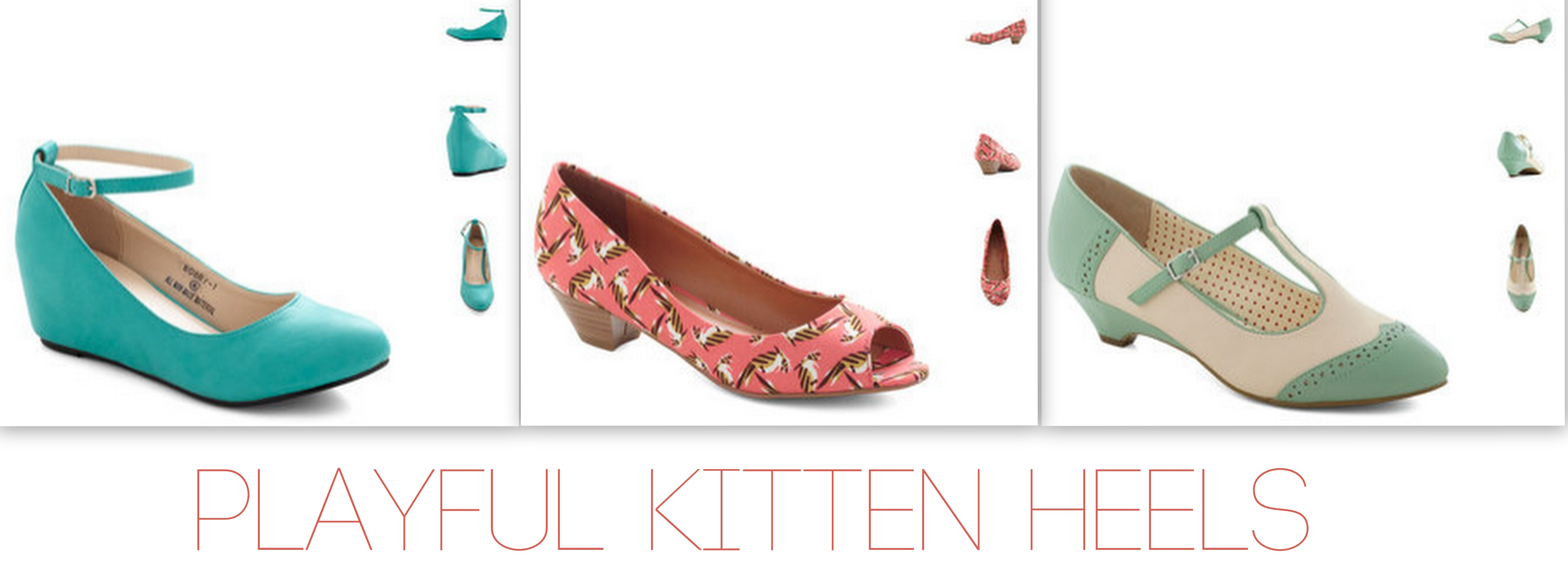 Oxfords, Loafers, and Kitten Heels. Oh my! | Naturale Chronicles