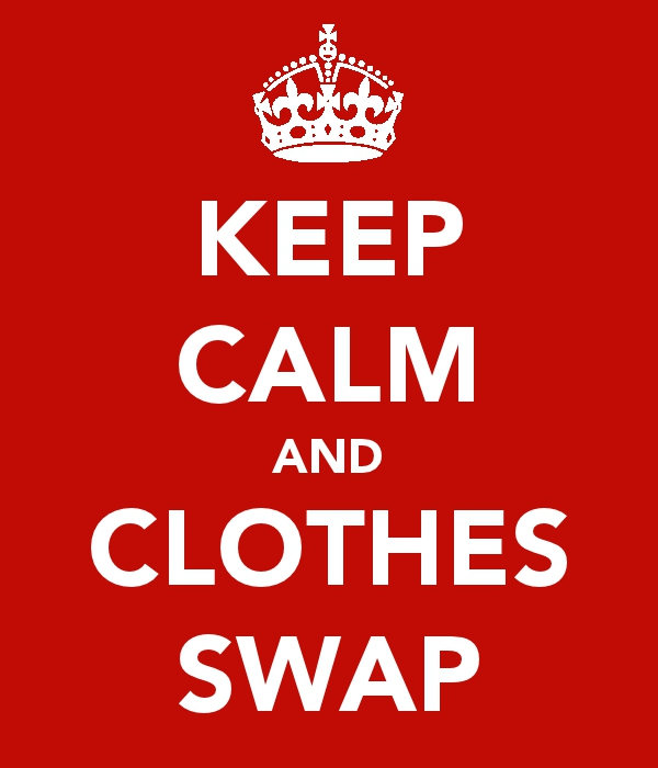 keep calm and clothes swap